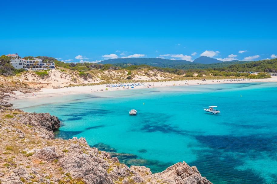 Arenal de Son Saura, Menorca