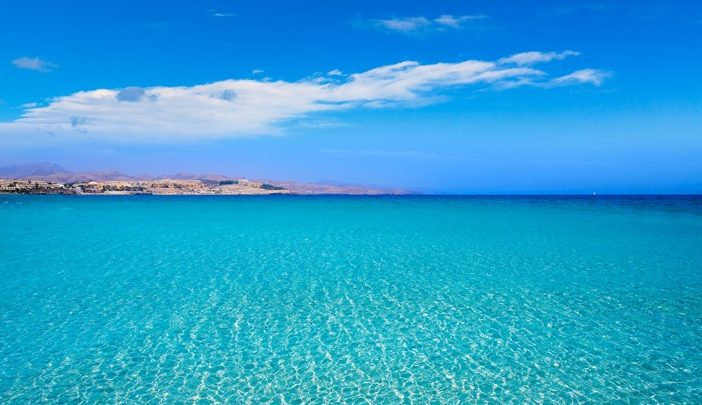 Costa Calma, pláž Jandia, Fuerteventura