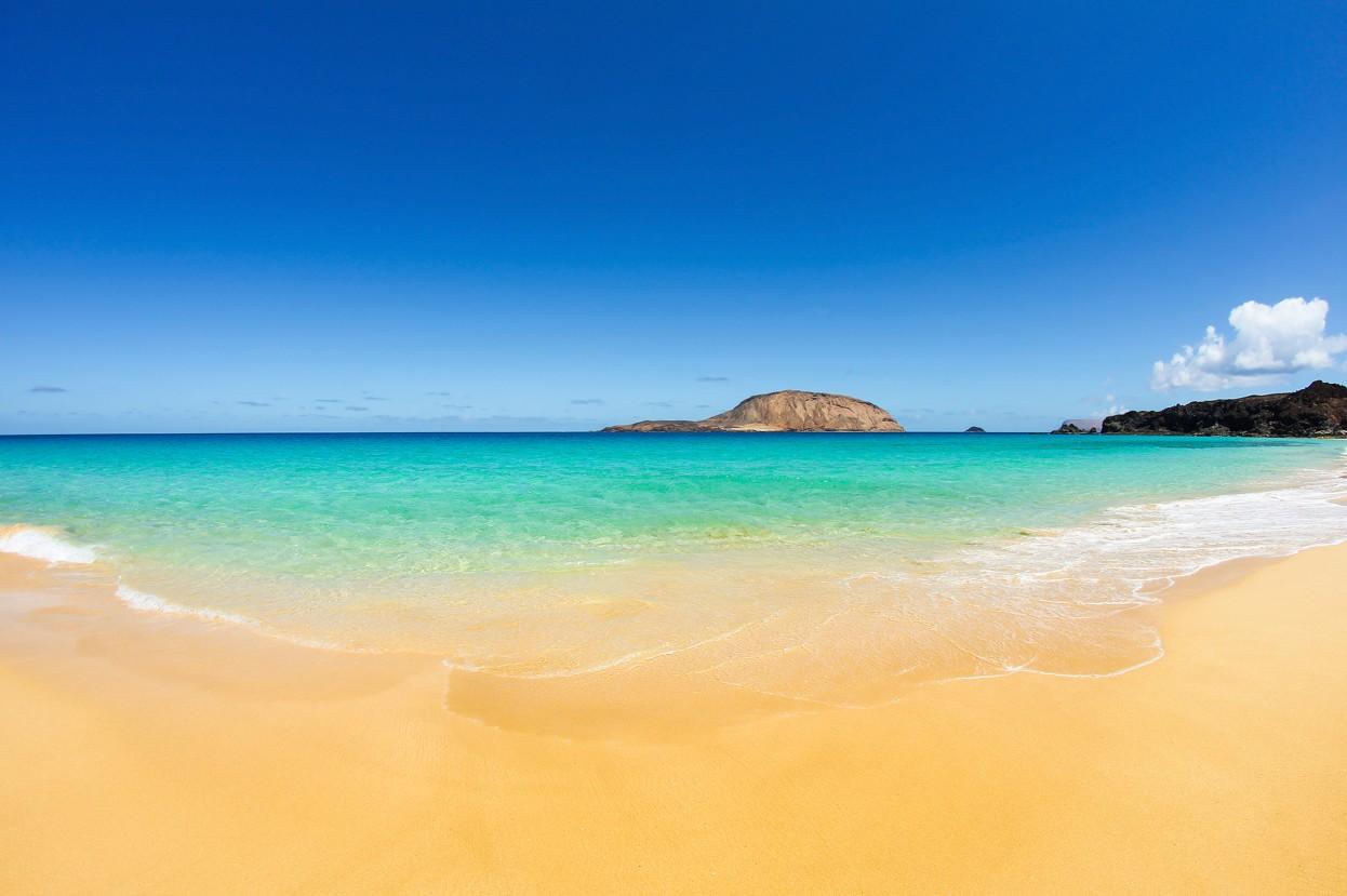 La graciosa island - Las Conchas beach, Lanzarote