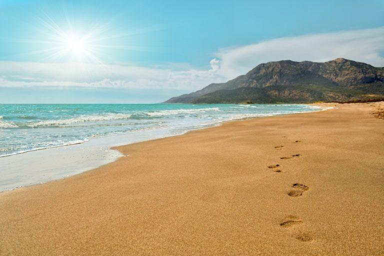 Pláž Patara, Turecká riviéra, Turecko