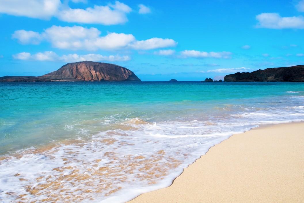 Playa de la Conchas beach, Fuerteventura