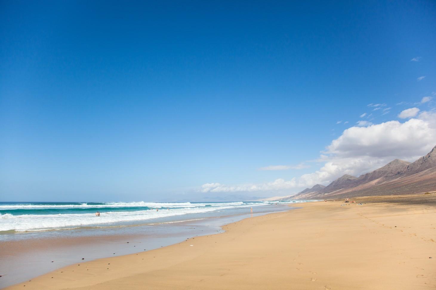 Playa de las Pilas, Fuerteventura