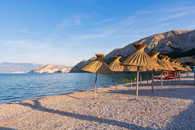 Vela Plaža, Krk, Chorvatsko