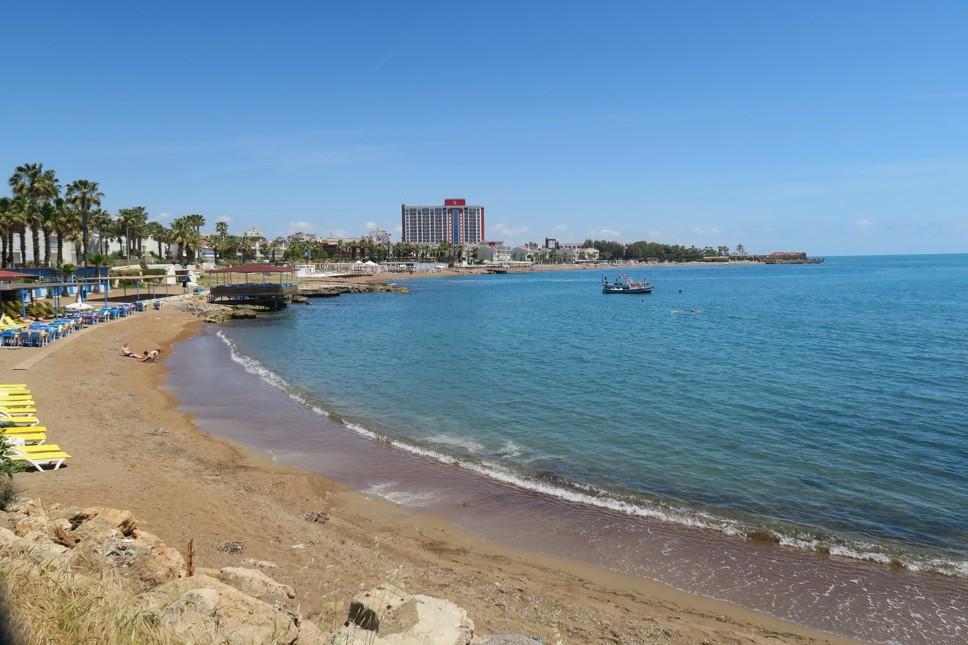 pláž Lara, Antalya, Turecko