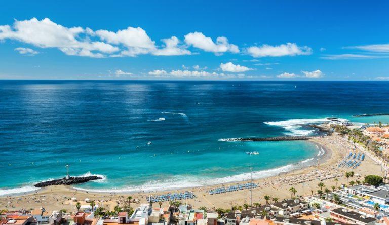 pláž Playa de Las Vistas