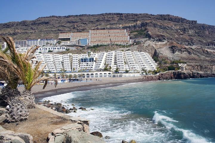 playa taurito in Gran Canaria