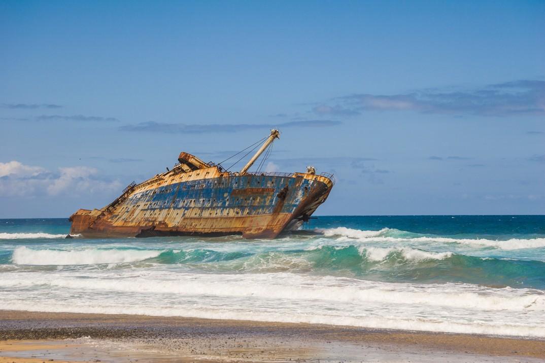 vrak lodi American Star, Fuerteventura