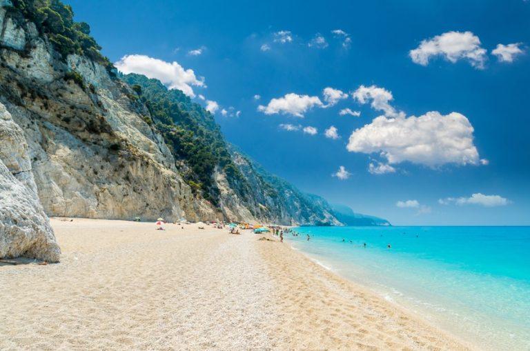 Egremni beach, Lefkada
