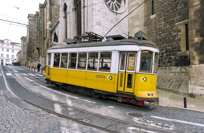 Eléctrico n.28, Lisabon, Portugalsko