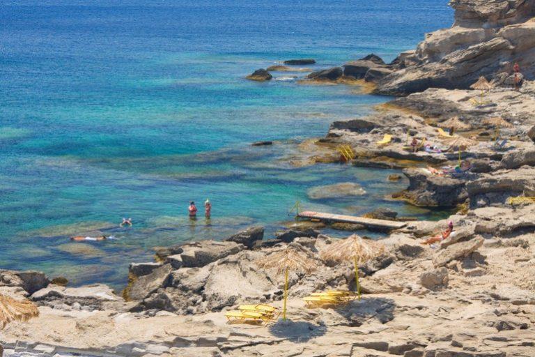 Kalithea beach, rhodos