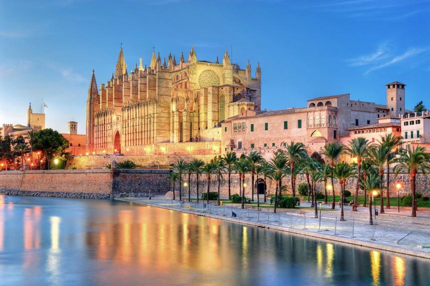 Katedrála v palma de Mallorca, Mallorka