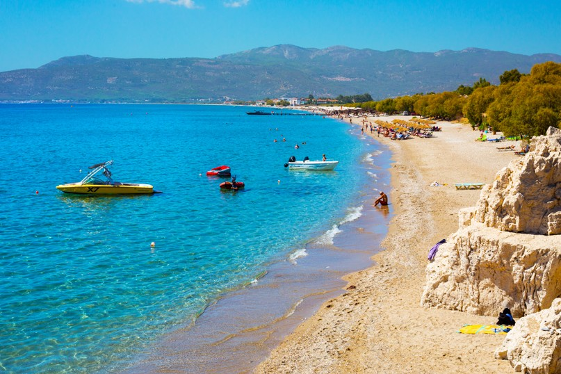Potokaki beach on Samos