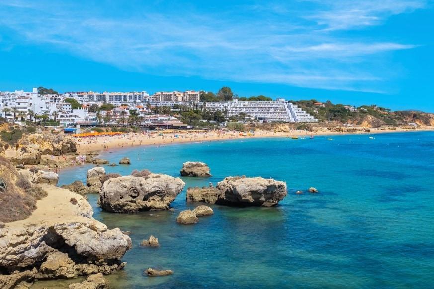 Praia da Oura, Portugalsko