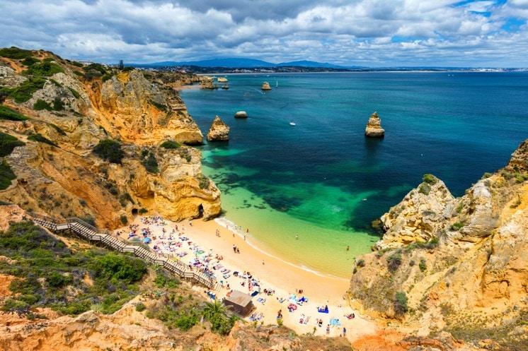 Praia do Camilo, Portugalsko