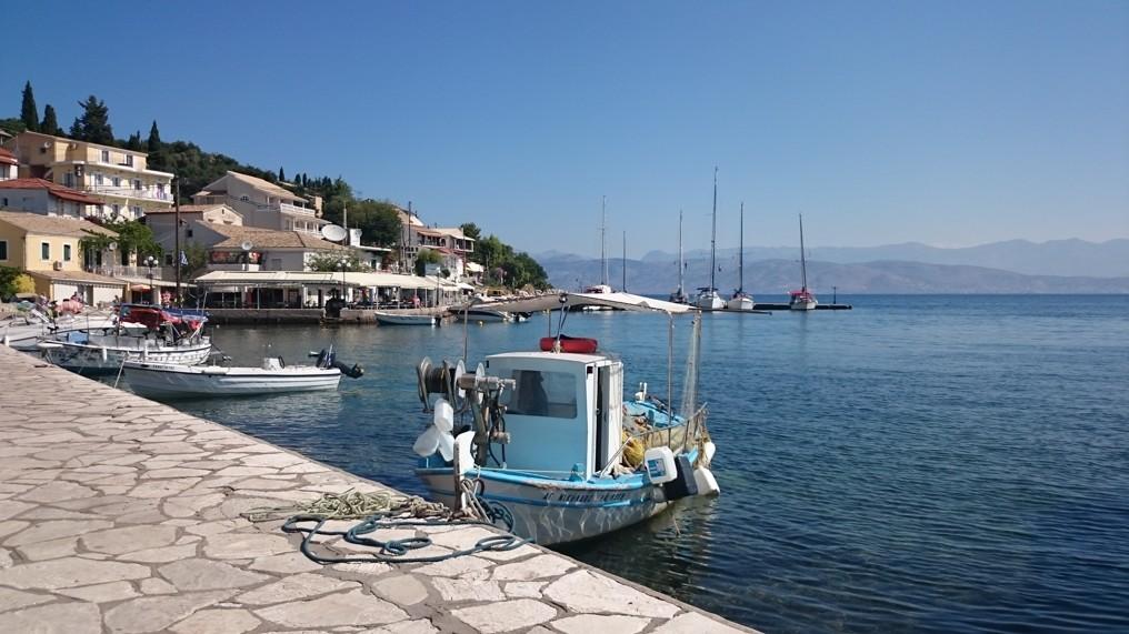 vesnice Kassiopi, Korfu