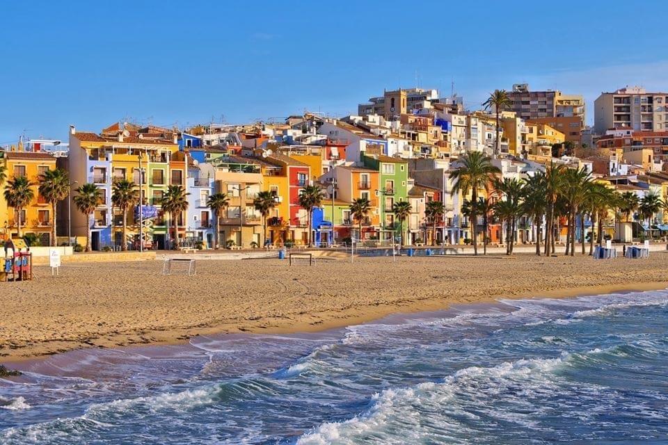 Strand van Villajoyosa