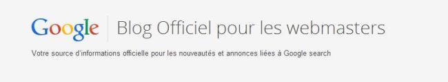 blog francais de google