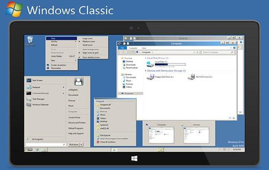 theme windows 8