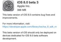 ios 8 beta 3 dispo