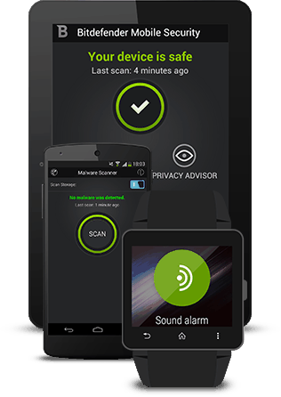 bitdefender lance WearOn pour android Wear
