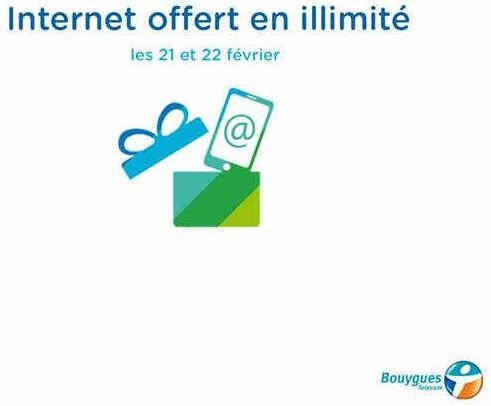 weekend data illimite chez bouygues