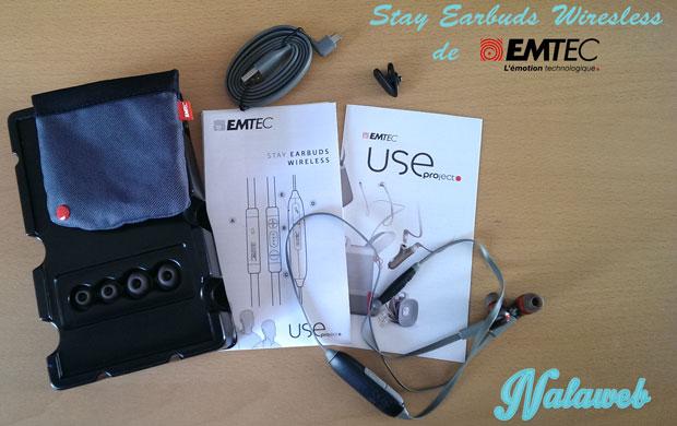 Stay Earbuds Wireless de Emtec
