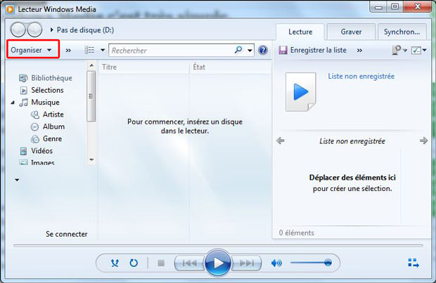 convertir un cd audio en mp3 avec windows media