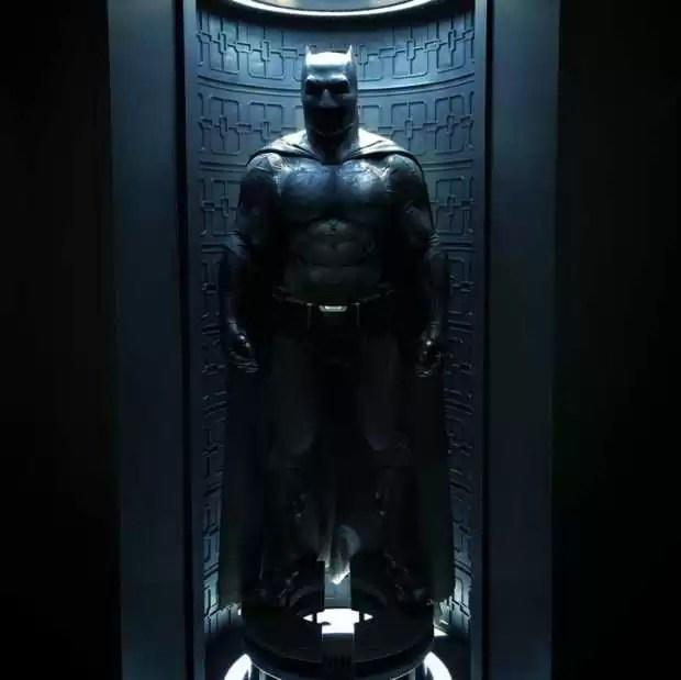 costume de batman dans Batman v Superman