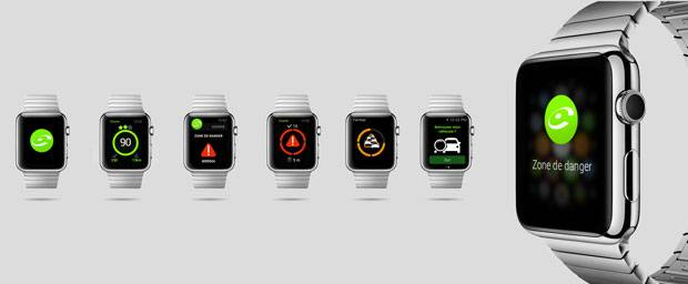 icoyote arrive sur apple watch