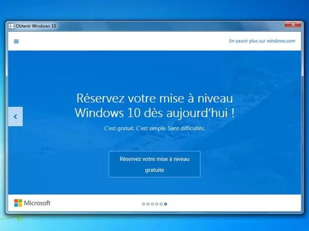 supprimer notification obtenir windows 10