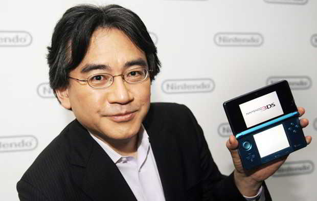 Satoru Iwata pdg de nintendo