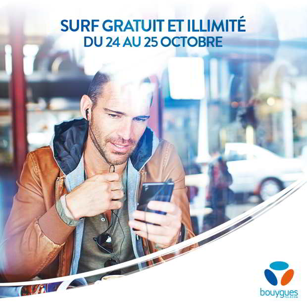 bouygues weekend illimite en 4G