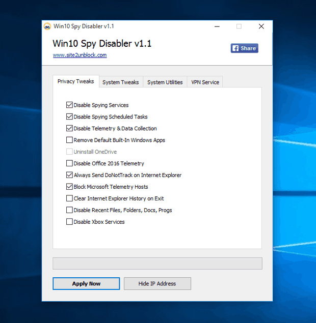 win10 spy disabler