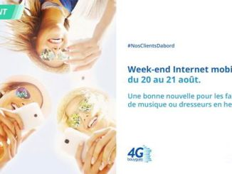bouygues weekend data 4G illimitee