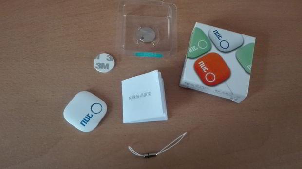 contenu de la boite du smart tracker NUT