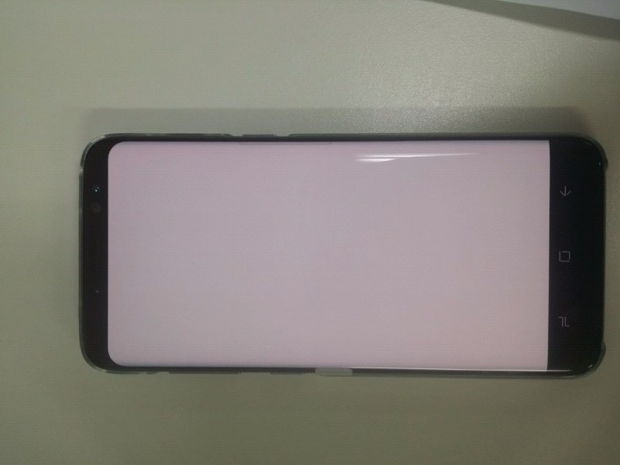 samsung galaxy s8 amoled screen red pixel