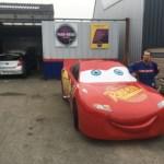 Flash McQueen a débarqué dans le Nord de la France