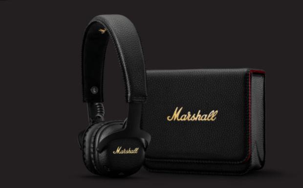 mid a.n.c marshall headphone package
