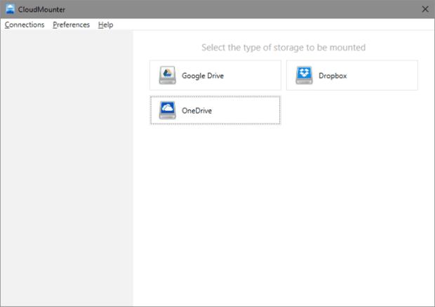 CloudMounter dropbox onedrive google drive cloud disque local