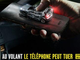 téléphone au volant interdit
