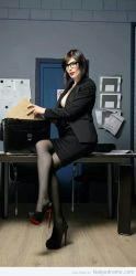Una secretaria sexy