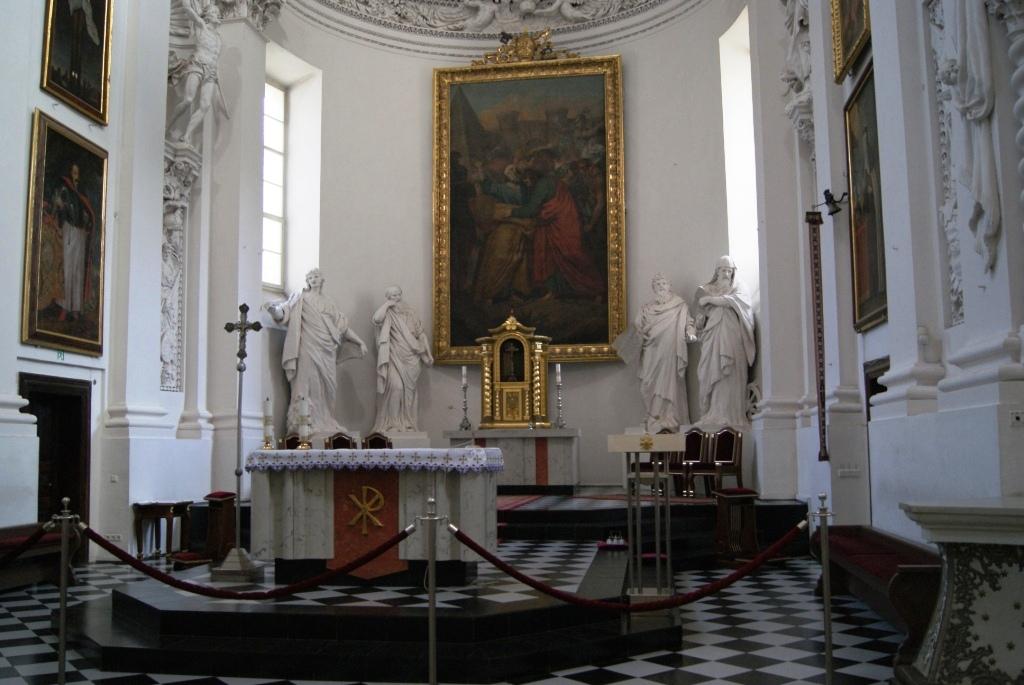 Ołtarz z obrazem Smuglewicza