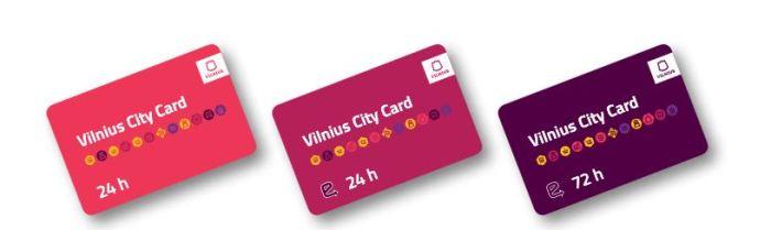 wilenska karta miejska vilnius city card