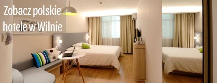 polskie hotele w Wilnie