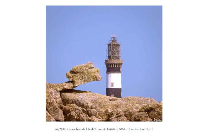portfolio du photomarcheur - les rochers de l'île d'Ouessant