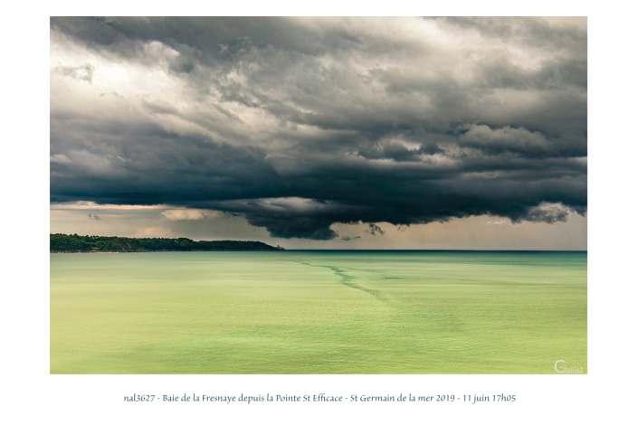 portfolio du photomarcheur - La baie de la Fresnaye depuis la Pointe St Efficace