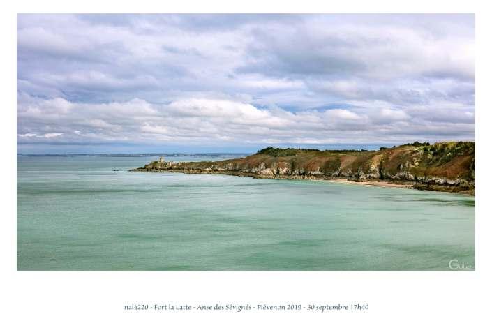 portfolio du photomarcheur - Fort la Latte et l'Anse des Sévignés