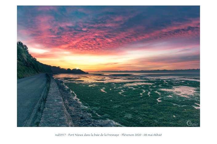 portfolio du photomarcheur - Port Nieux dans la baie de la Fresnaye