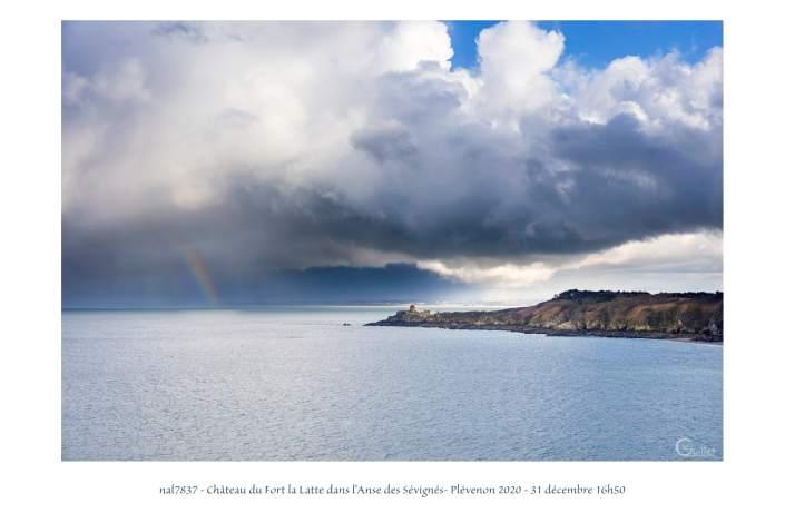 portfolio du photomarcheur - Fort la Latte dans l'Anse des Sévignés