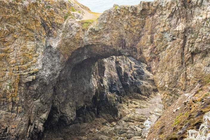 Crozon : Arche de la pointe de Dinan